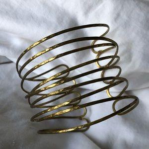 Jewelry - Adjustable Metal Wire Arm Bracelet